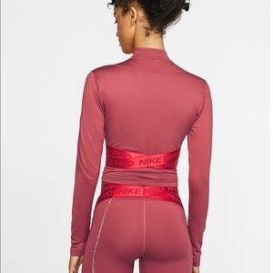 Nike Pro Hyperwarm 1/2 Zip Long Sleeve Top